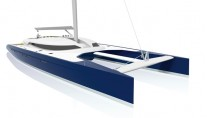 Nahema 120 sailing catamaran - Image credit to H2X