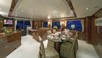 Nanou Dining Area Looking Aft