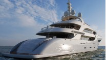 Nassima superyacht - rear view