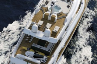 Navetta-33-Crescendo superyacht - view from above
