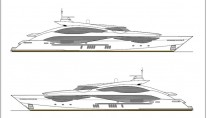 New 51m super yacht 168 Sport Yacht by Sunseeker - Layout