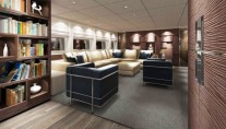 New Sanlorenzo SL94 motor yacht series Salon