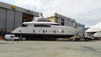 New motor yacht Maiora 24S by Fipa Group at launch