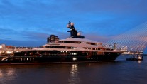 Newly delivered 91.5m motor yacht EQUANIMITY (Y709) by Oceanco