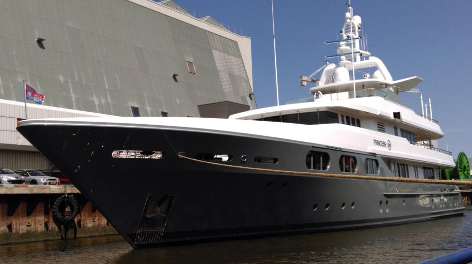 Newly Reed 48m Feadship Superyacht Princess Too At Icon Yachts