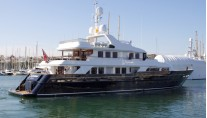 Newly refitted motor yacht Paramour by CMN Yachts