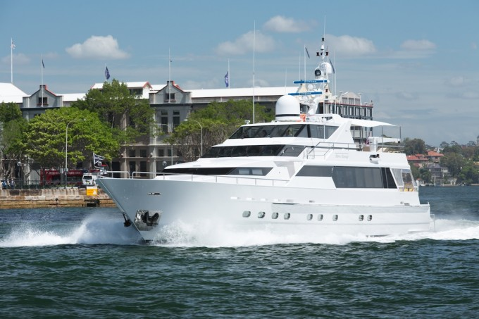 Yacht OSCAR II (ex SPIRIT OF SOVEREIGN)