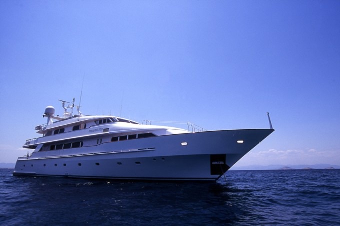 Motor yacht OURANOS TOO
