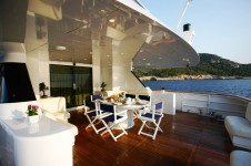Obsesion  -  Aft Deck