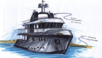 Ocean-King-88-Yacht-sketch