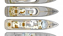 Oceanco DEEP BLUE II - Layout