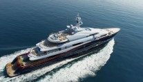 Oceanco Yacht NIRVANA -  From Above