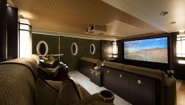 Oceanco Yacht NIRVANA -  Media Room and Cinema