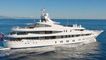 Oceanco motor yacht NATITA offering huge charter rate reduction in the Caribbean