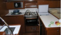 Oceanis 54 galley