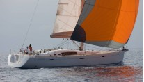 Oceanis 54 with spinnaker