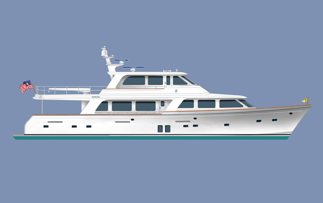 Motor Yacht Offshore 87'