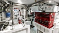 Ohana Yacht - Engine Room Credit Fitzroy Yachts