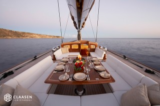 On board sailing yacht Lionheart - Claasen Shipyards
