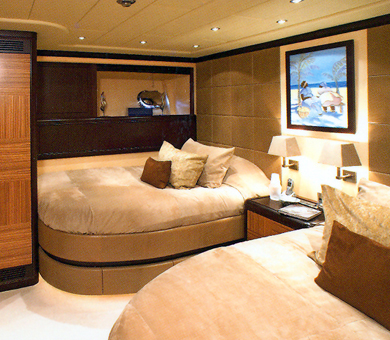 Luxury Yacht Charter SAMIRA - Oscar 2 Twin Bedroom - Mangusta (