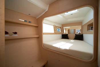 Oteka - Forward port Guest Cabin