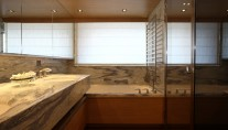 Owner Bathroom - Yacht Exuma -  photo  courtesy of Perini Navi