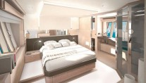 Owner Suite - Ferretti 720 SuperYacht