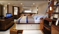 Owners Cabin - Oyster 100 SARAFIN superyacht - Copyright Oyster Marine
