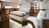 Owners cabin - the first Oyster 100 sailing yacht SARAFIN - Copyright Oyster Marine