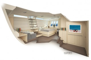 Oyster 115 Yacht Project - Owners Cabin