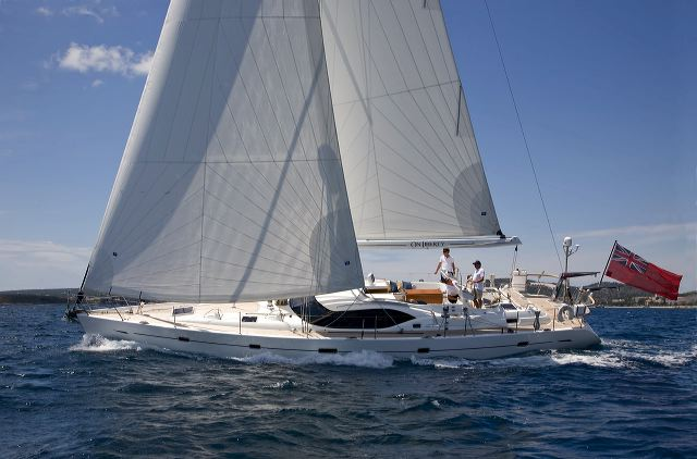 Sailing yacht Oyster 575/01