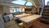 Oyster 625 Superyacht - Salon - Image courtesy of Oyster Marine