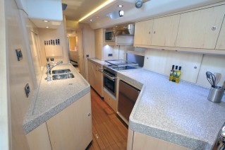 Oyster 625 Yacht - View of the galley - Image courtesy of Oyster Marine .jpeg