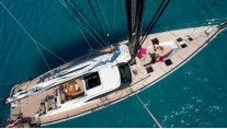 Oyster 885 Yacht CLARE -  From Above