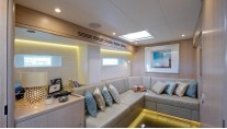 Oyster 885 Yacht CLARE -  Library - Convertible Twin Cabin