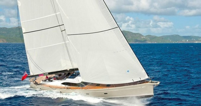 Sailing yacht Clare