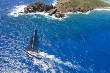 P2 by Perini Navi birds view