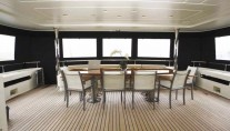 PANFELISS Motor Yacht -   Aft Deck Enclosed