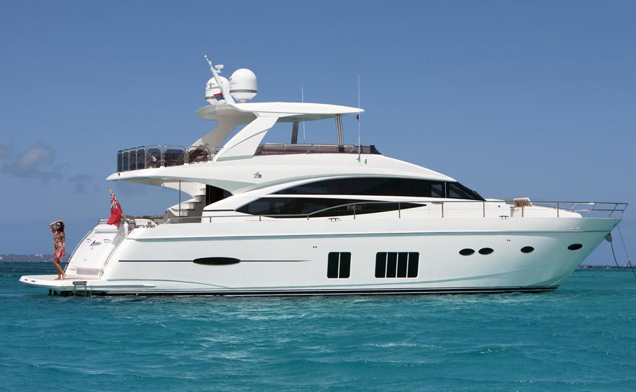 Motor Yacht Panthera Cove Princess 72