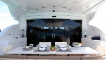 PHOENICIAN -  Aft Deck Dining