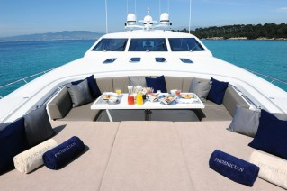PHOENICIAN -  Foredeck Seating