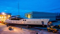 PJ170 - hull 2 - Motor Yacht BLISS launched by Palmer Johnson