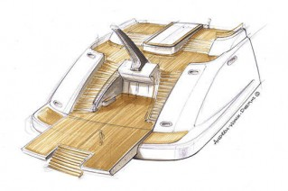Palo Alto superyacht design by Andrew Winch