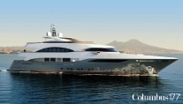 Palumbo built Yacht PRIMA - a Columbus 177- designed by Hydro Tec -