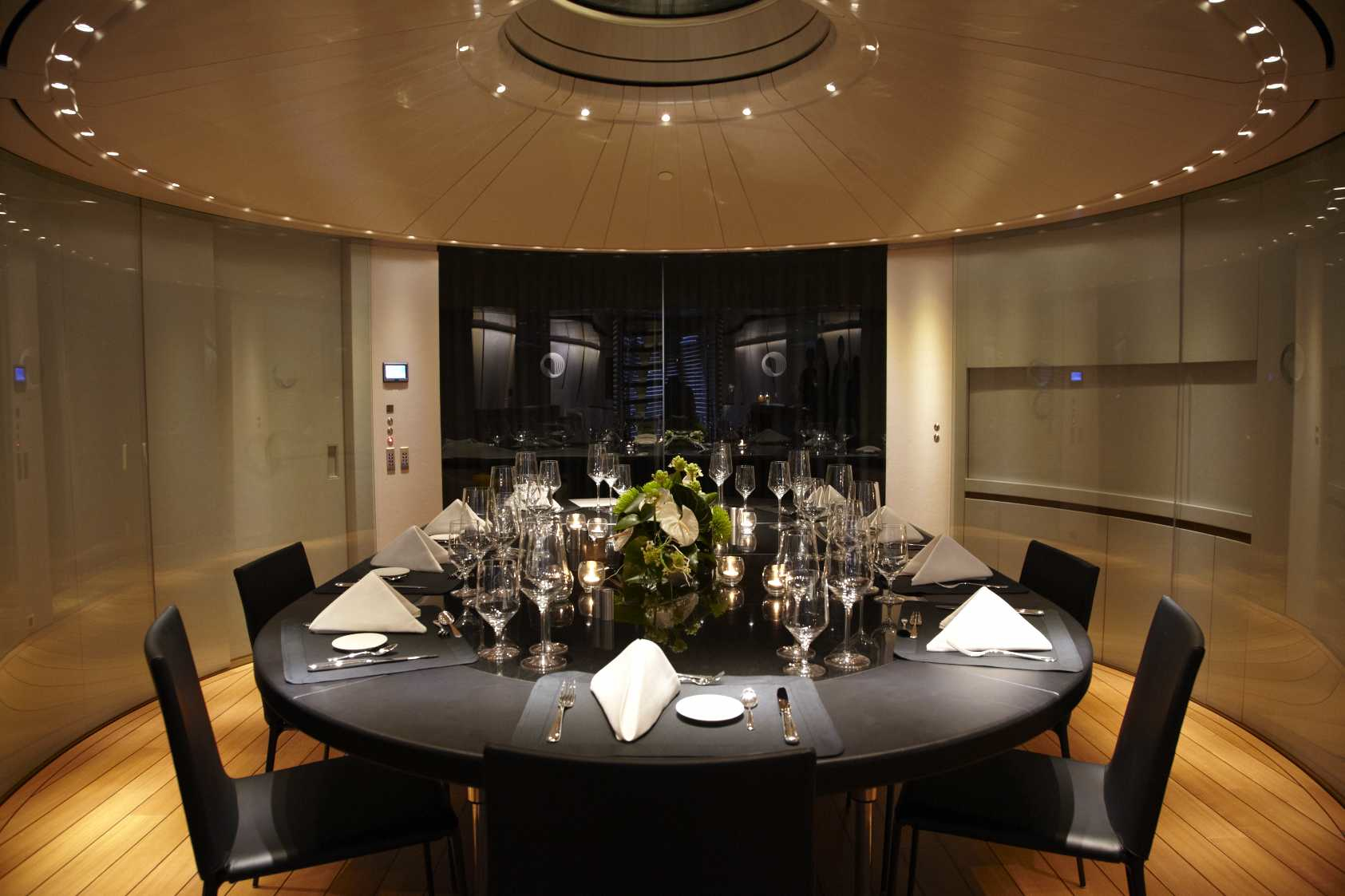 Dining Table Image Gallery Luxury Yacht Gallery Browser