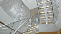 Panthalassa -  Stair case with natural light