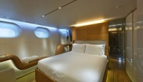 Panthalassa Accommodation - Sailing yacht by Perini Navi