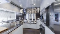 Panthera Yacht - Galley