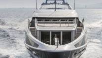Panthera Yacht - front view