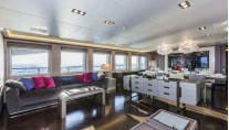 Panthera superyacht - Main Saloon